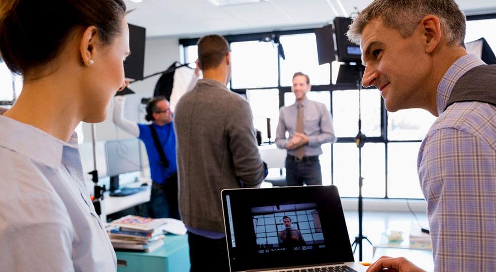 vlog studio opnames voor zakelijk vloggen