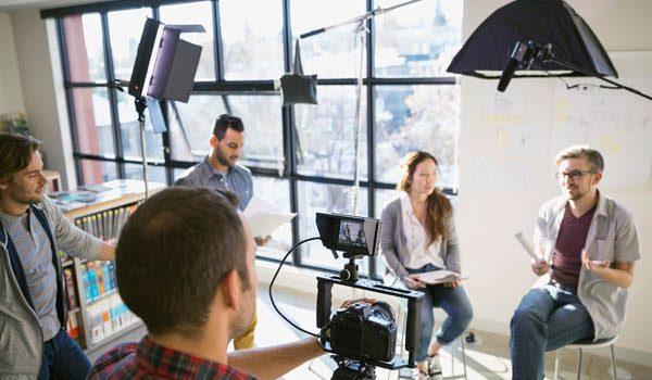 Cursus vloggen in de studio